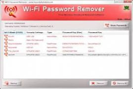 WiFi Password Decryptor 5